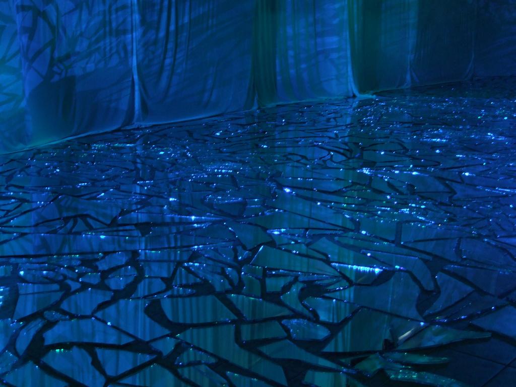 Blue Mirror Shards