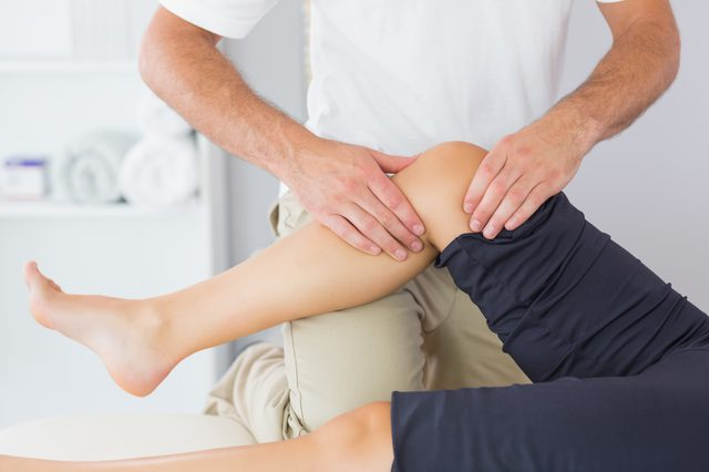 Rehabilitation for dislocation of the knee joint