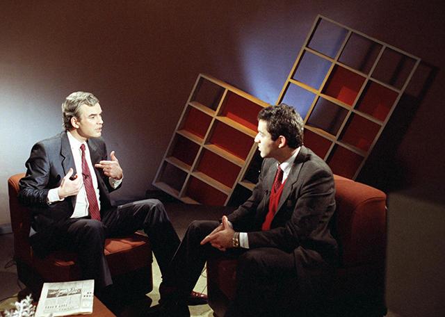 Molchanov with Garry Kasparov