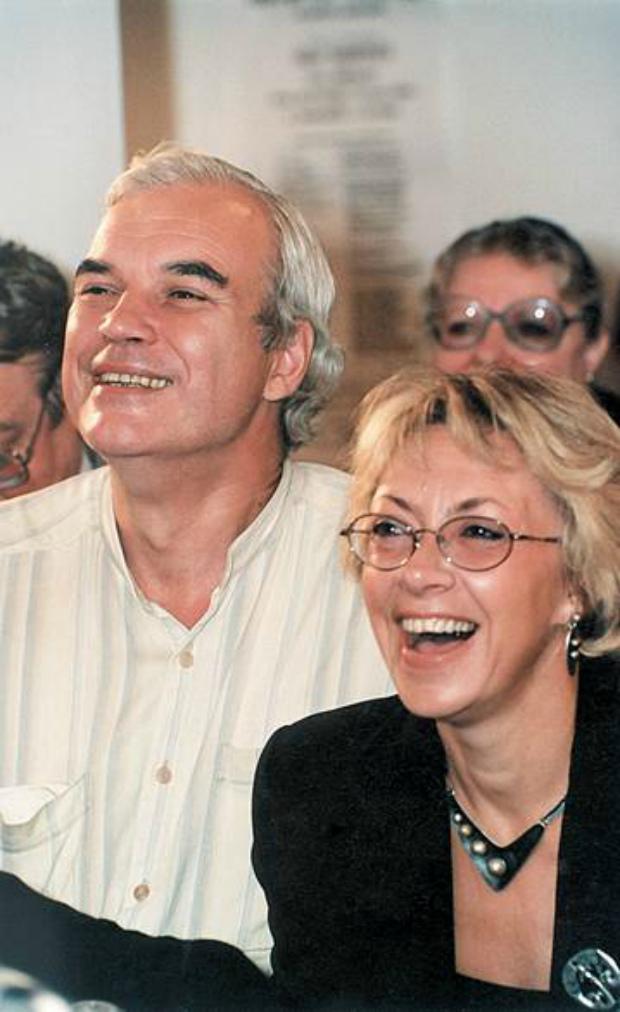 Vladimir Molchanov and his wife