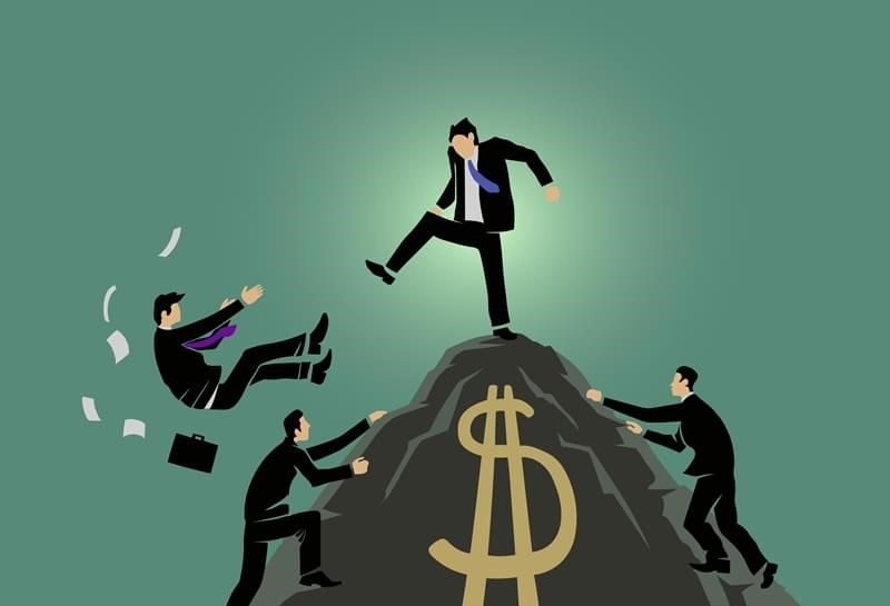 caricature of capitalism