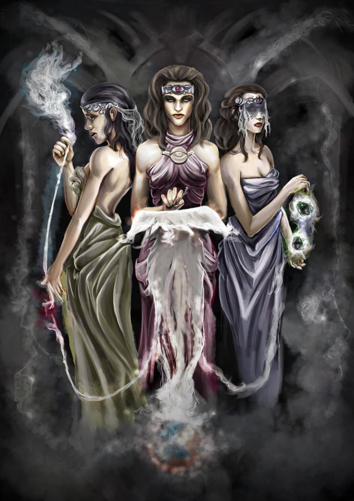 Goddess of Destiny - Moira