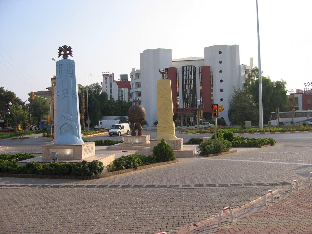 Центральная площадь Авсаллар