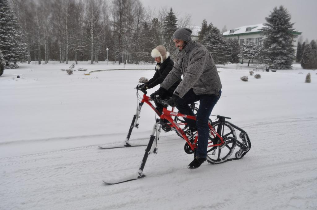 Катрак - зимний велосипед