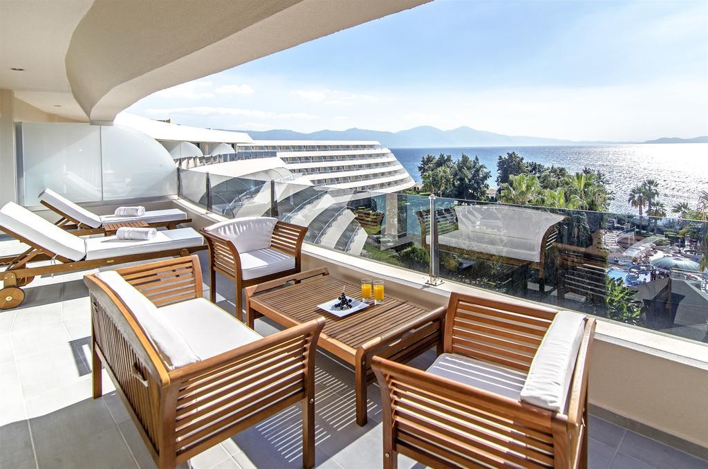 Open balcony in the room