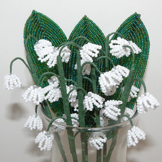 Another way to weave lily of the valley