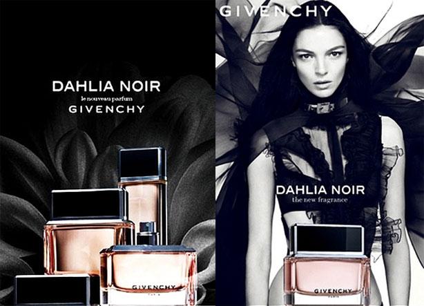 Givenchy Dahlia Noir advertising