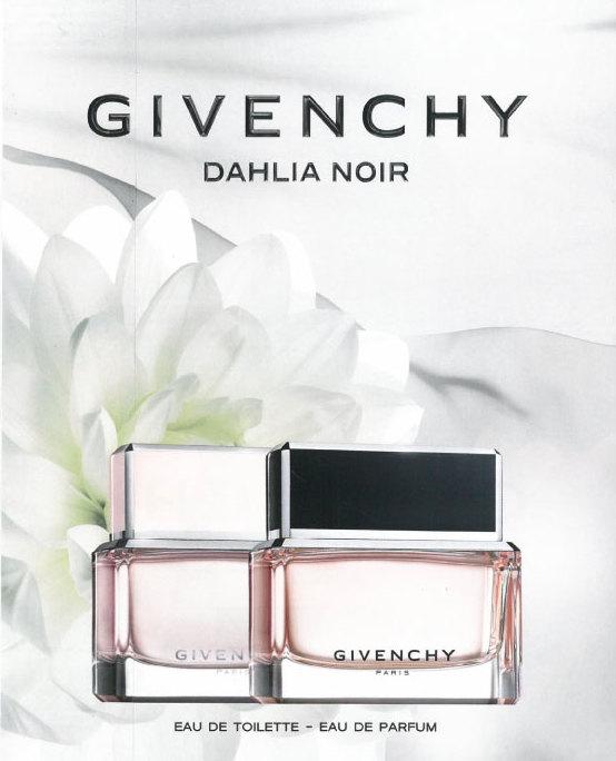 Toilet and Eau de Parfum Dahlia Noir