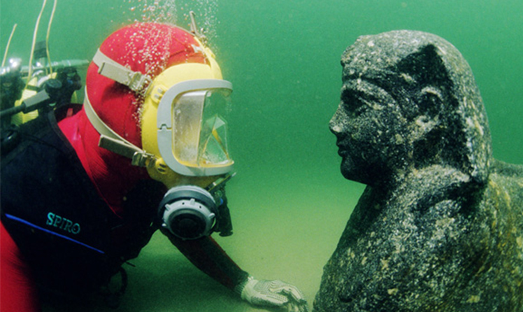 Underwater archaeological discoveries