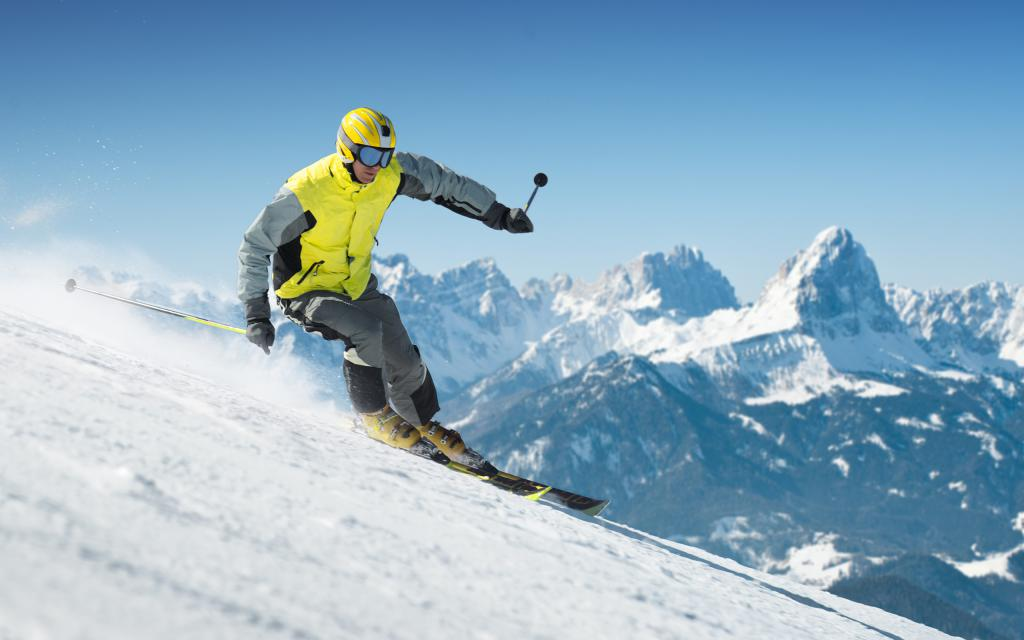 Photo skier