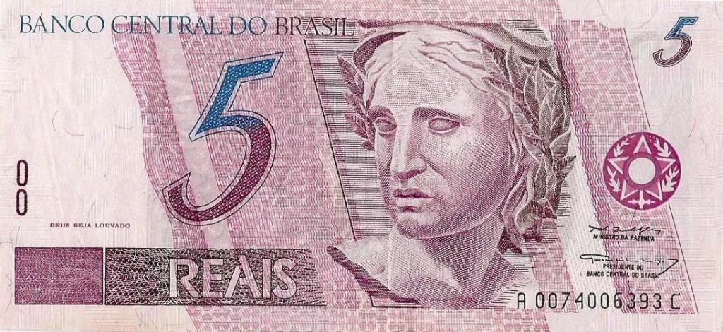 five reais
