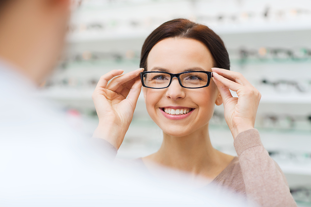 Ready bifocal glasses.