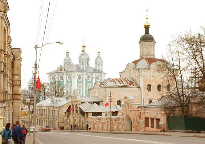 View of modern Smolensk