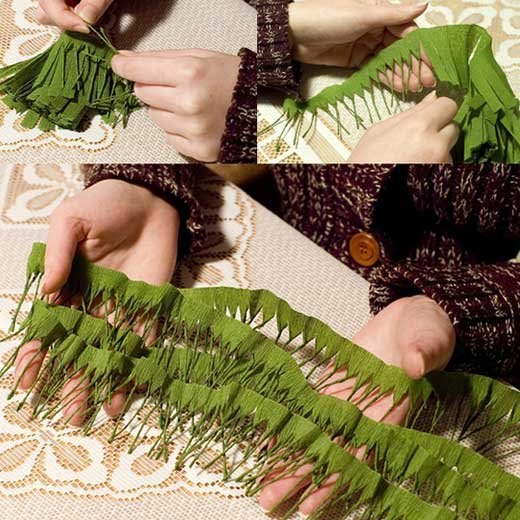 How to make Christmas tree branches