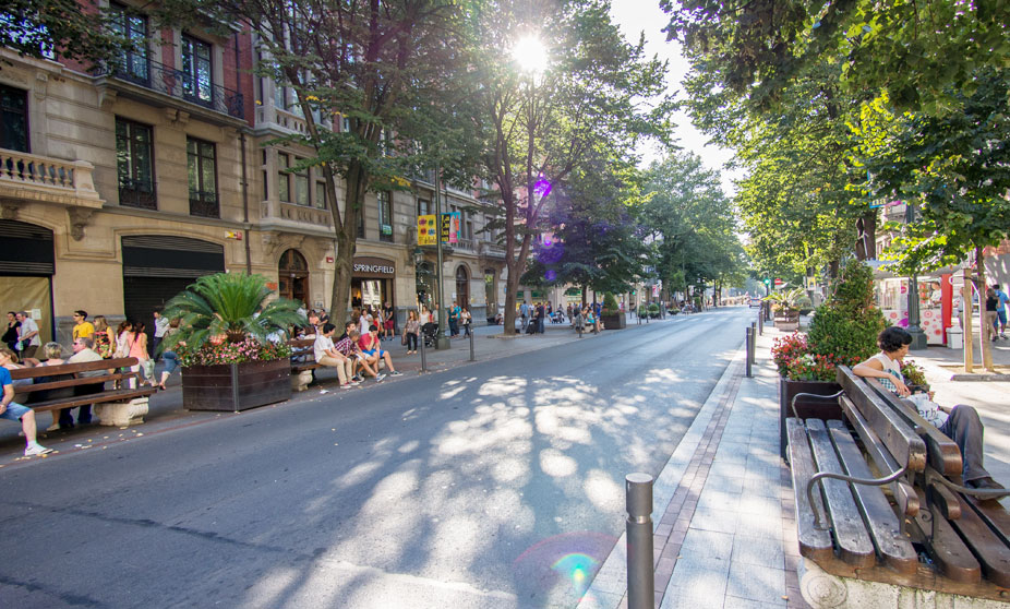 Gran Via in Bilbao
