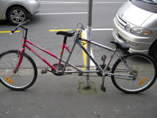 how to make a tandem of two