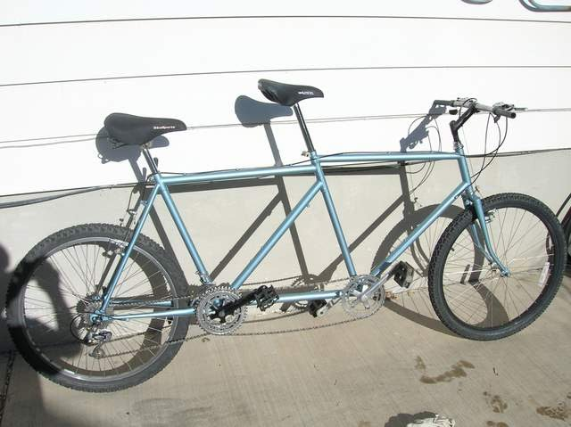 like a tandem of two bicycles