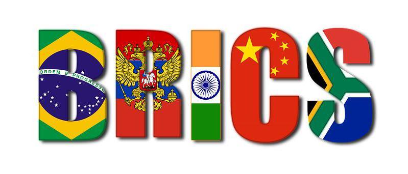 страны брикс и их флаги