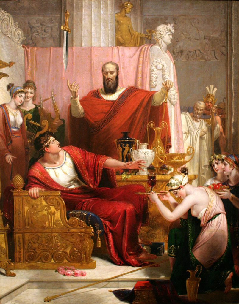sword of Damocles idiom meaning