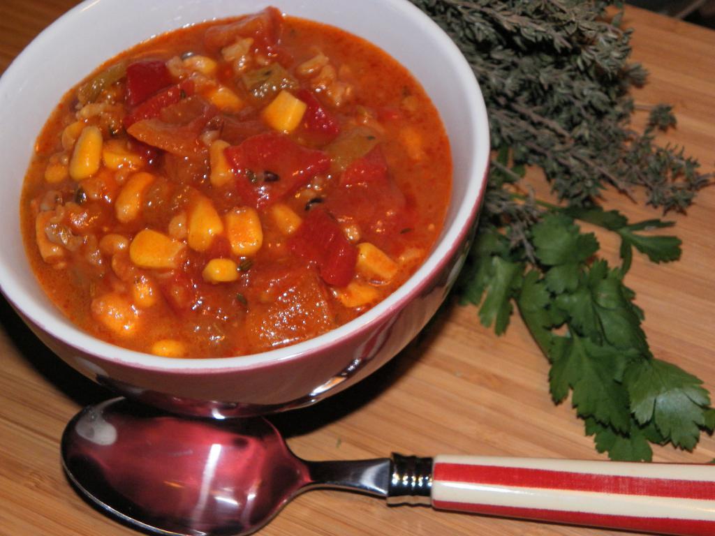 vegetarian beetroot soup