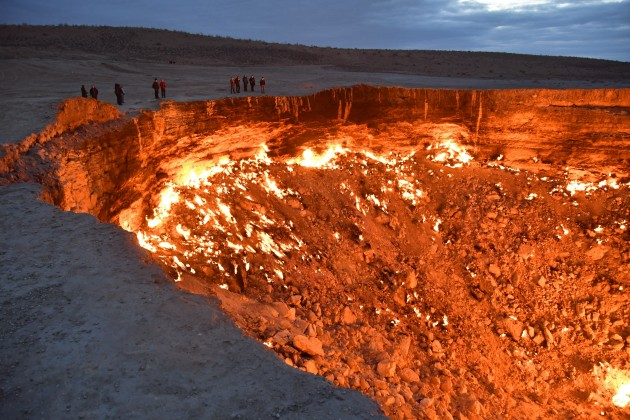 gas crater