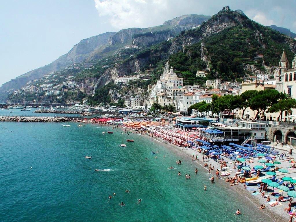 пляжи неаполя фото цветовая
