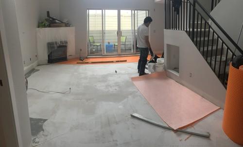 soundproofing floor trotsellen