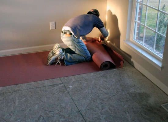 acoustics floor soundproofing