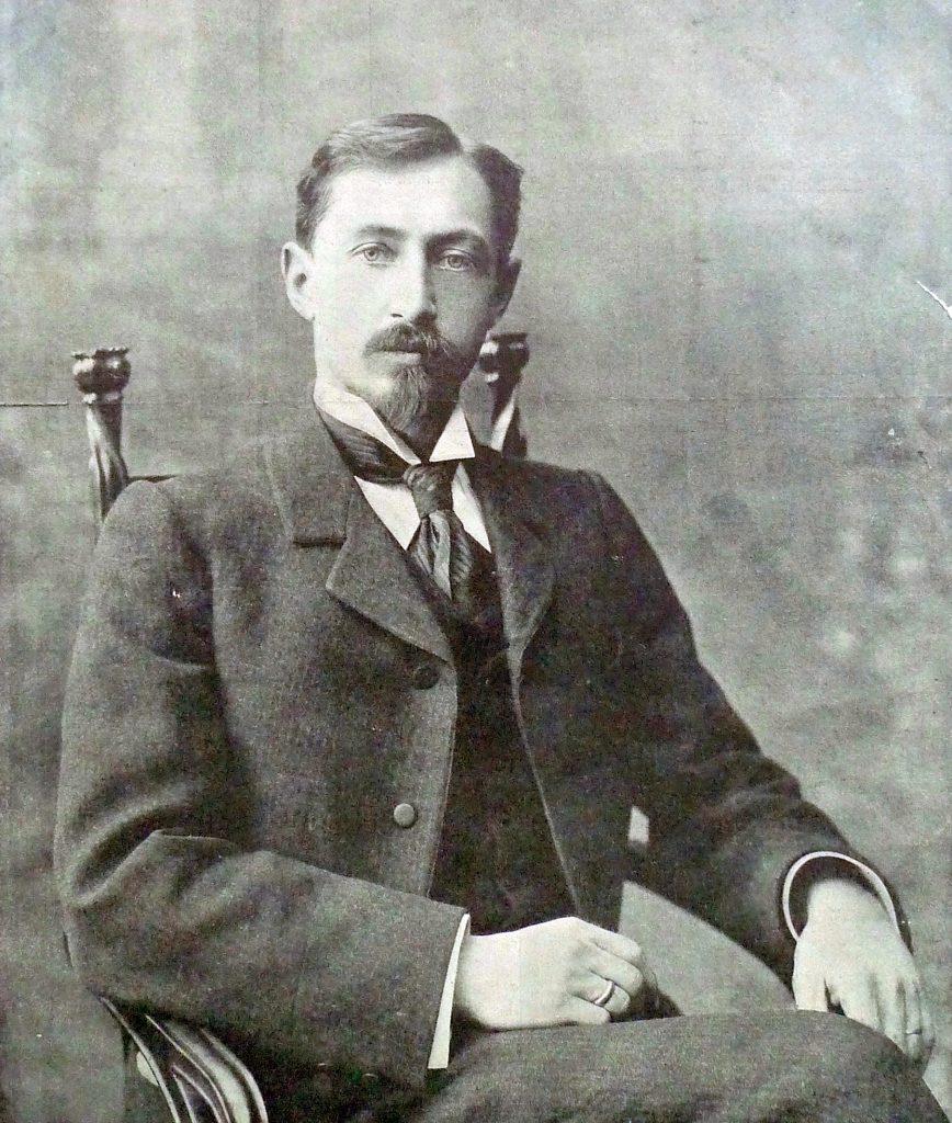 portrait of Bunin