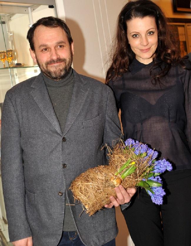 Евгения Крюкова и Сергей Гляделкин