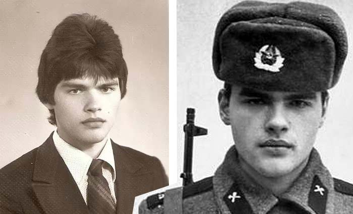Евгений Дятлов в юности