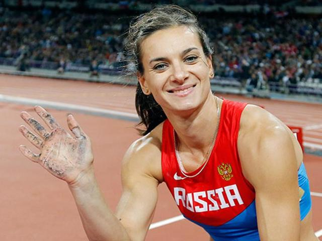 Елена Исинбаева чемпионство