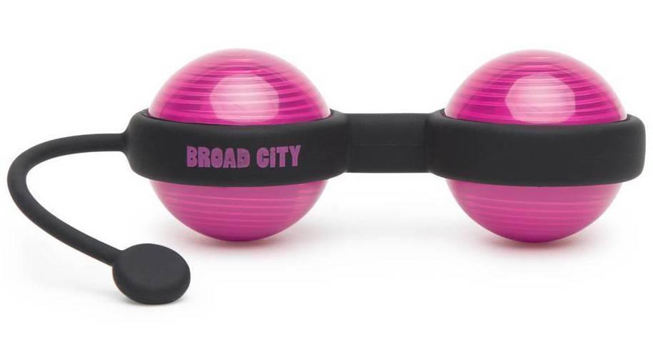 Plastic vaginal balls