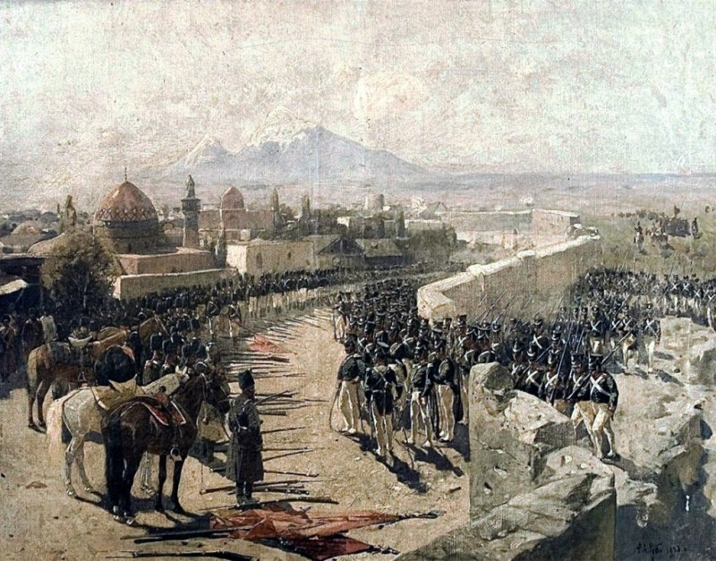 The war of Russia with Persia 1826-1828