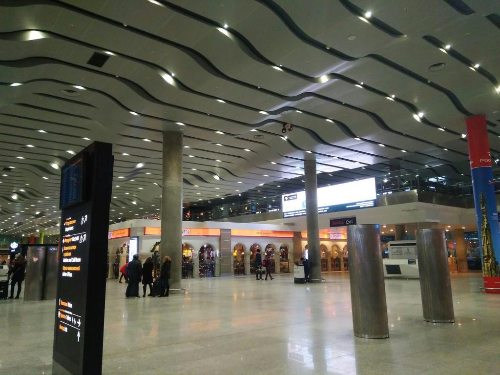 Pulkovo Airport today