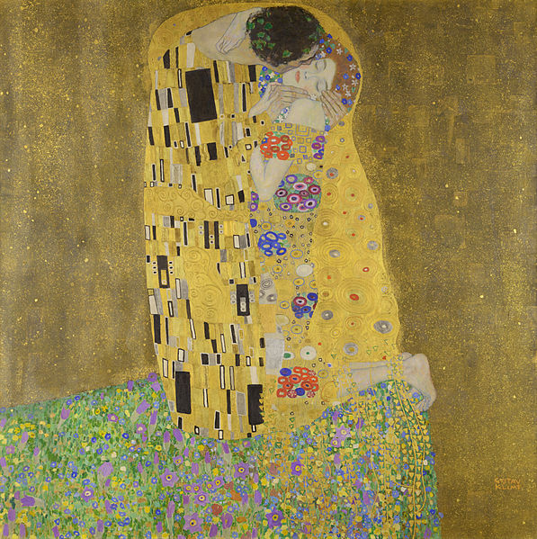 """""""Kiss"""" by Gustav Klimt"""