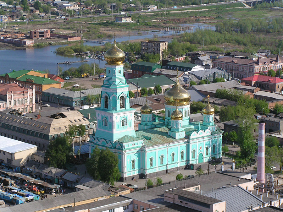 / Attractions Syzran description
