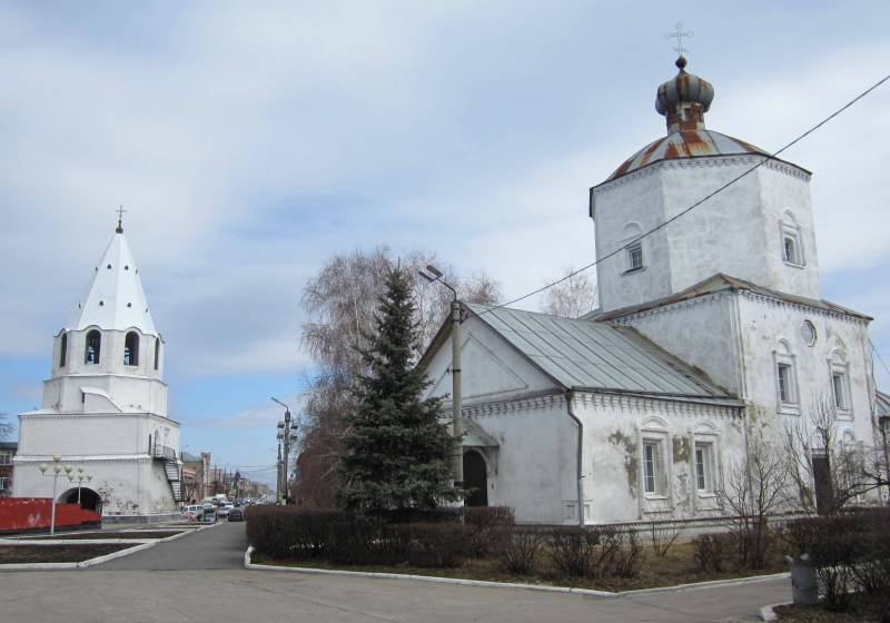 Sights of Syzran photo with names