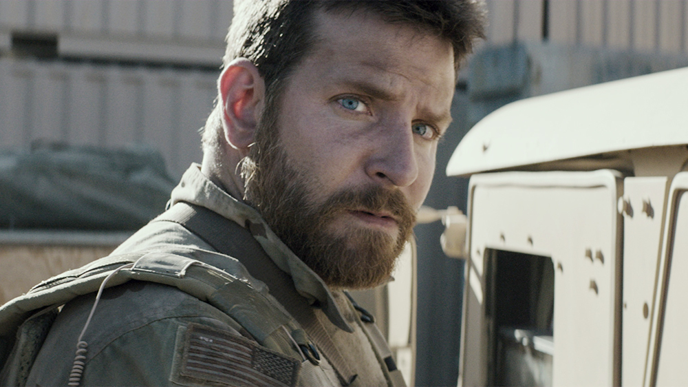 "Bradley Cooper in the film ""Sniper"""