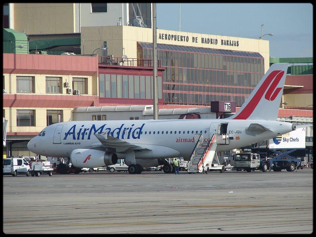 Air Madrid Airline Aircraft