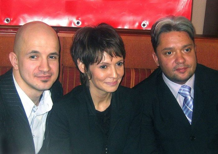 Inga Ilm, Egor Druzhinin and Dmitry Barkov