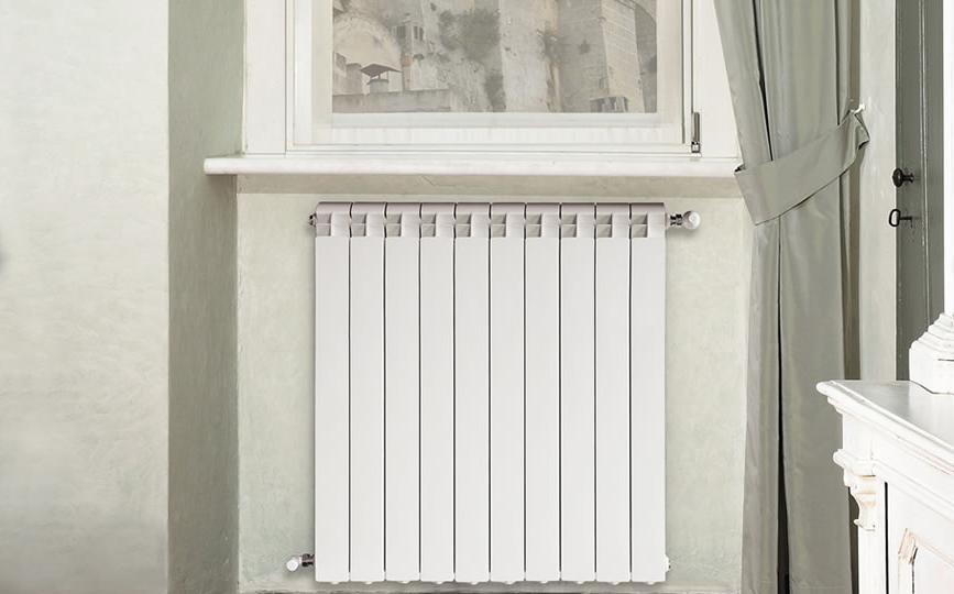 Installation of aluminum radiator