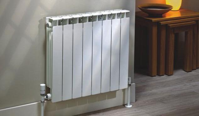 Радиатор из восьми секций