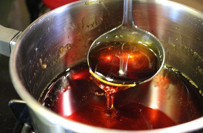 Приготовление жженого сахара