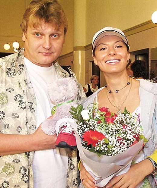 ирина лачина с мужем
