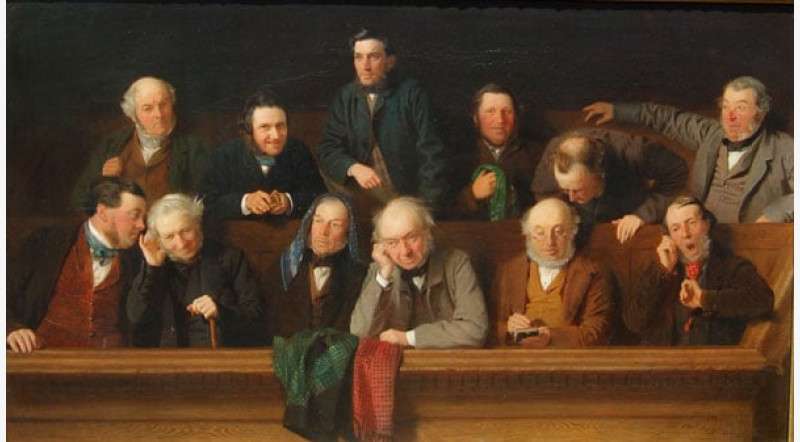 Jurors in english court