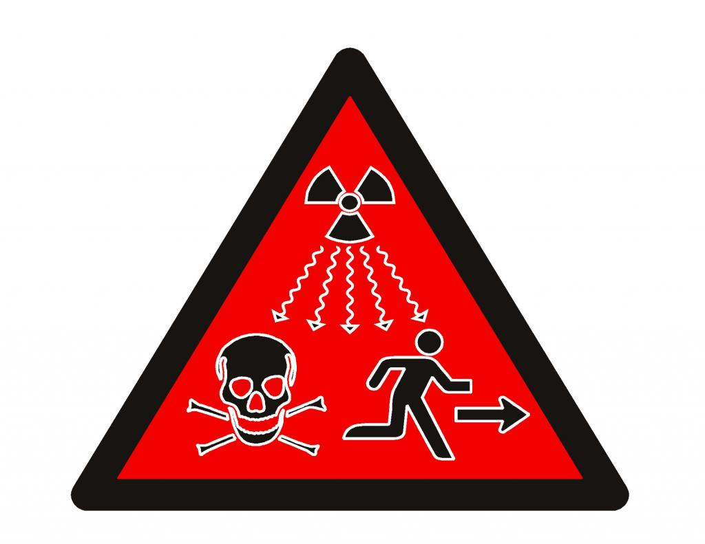 New sign of radiation