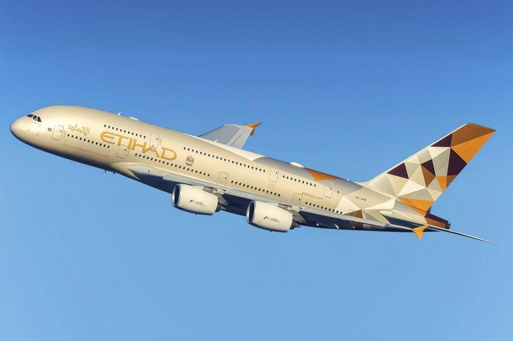 Aircraft Etihad Airways