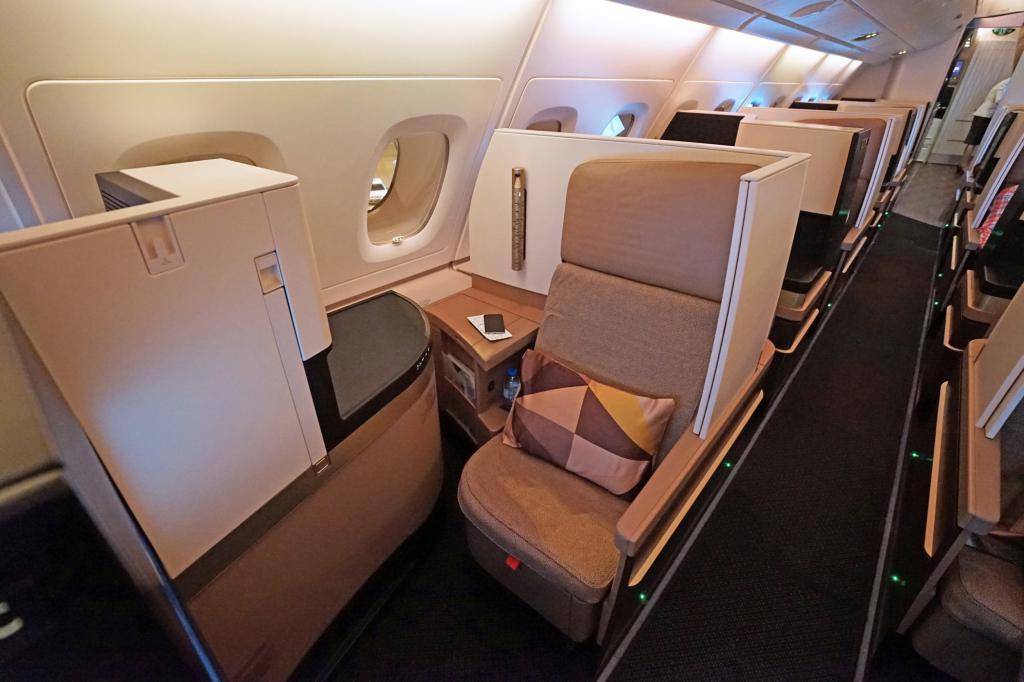 VIP Comfort at Etihad Airways