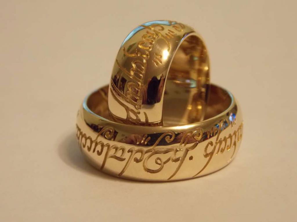 Engraved Rings from Bronnitsky Jewelry Factory